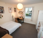 Student property large bedroom in Plymouth.