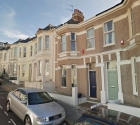 Attached terrace house in plymouth for student let.