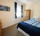 Large modern double bedroom in university of plymouth shared house.