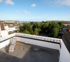 Sea view roof terrace in plym uni shared flat in stoke.