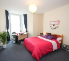 Grand double bedroom in plymouth university shared student flat.