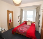 Large double bedroom in plymouth university student property in mutley.