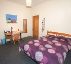 Large plymouth student accommodation double bedroom.